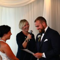 The Lake House Wedding Ceremony, Pickering