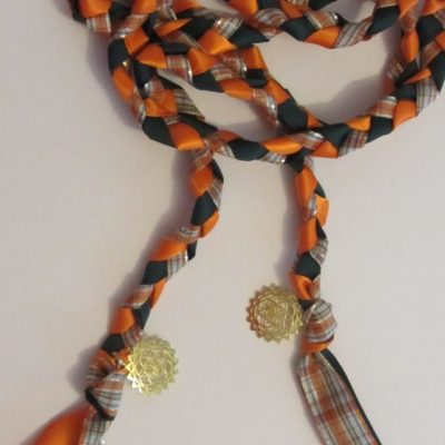 Celtic, handmade handfasting braid...can be purchased.